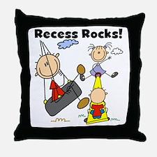 Recess Rocks Throw Pillow