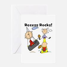 Recess Rocks Greeting Card