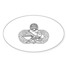 Maintenance Oval Decal