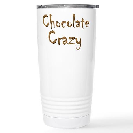 Chocolate Crazy Stainless Steel Travel Mug
