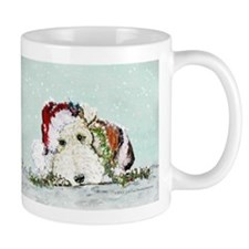 Fox Terrier Christmas Mug