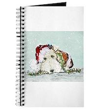 Fox Terrier Christmas Journal