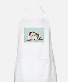 Fox Terrier Christmas BBQ Apron