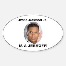 Jesse Jackson Jr. Oval Decal