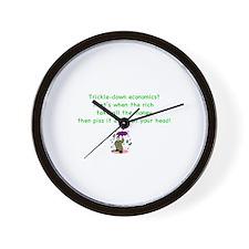 Funny Bad economy Wall Clock