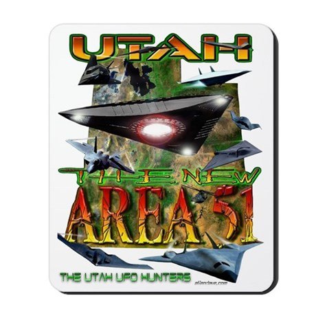 Utah The New Area 51 Mousepad