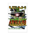 Utah The New Area 51 Mini Poster Print
