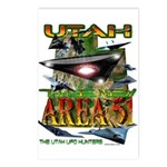 Utah The New Area 51 Postcards (Package of 8)