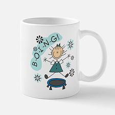 Girl on Trampoline Mug