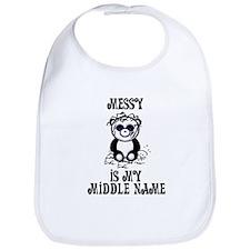 Messy Is My Name Bib