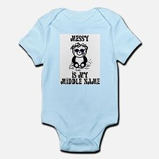 Messy Is My Name Infant Bodysuit
