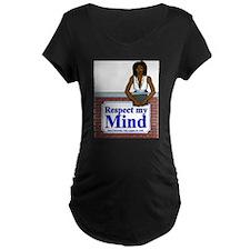 Black Respect My Mind T-Shirt