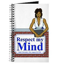 Latina Respect My Mind Journal