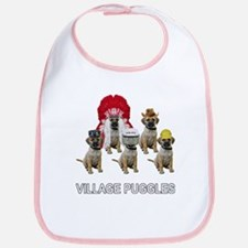 Village Puggles Bib