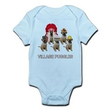 Village Puggles Infant Bodysuit