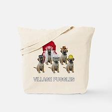 Village Puggles Tote Bag
