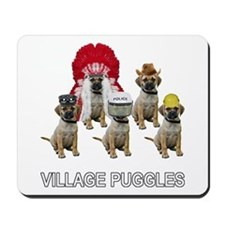 Village Puggles Mousepad