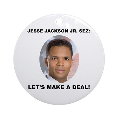 Jesse Jackson Jr. Ornament (Round)