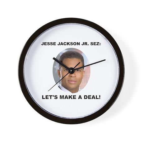 Jesse Jackson Jr. Wall Clock