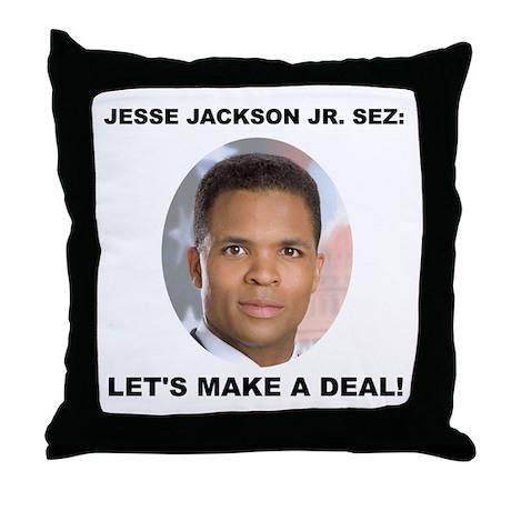 Jesse Jackson Jr. Throw Pillow