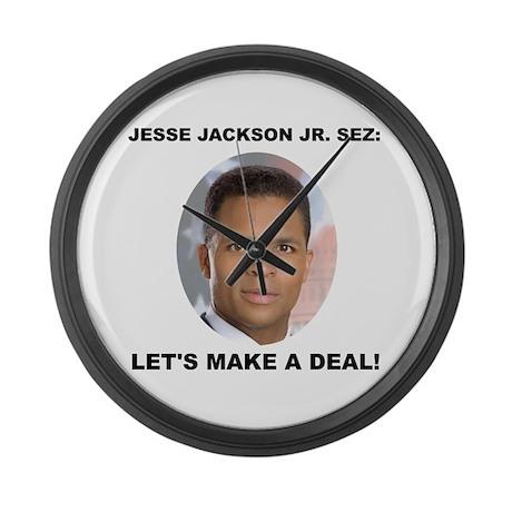 Jesse Jackson Jr. Large Wall Clock