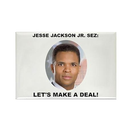 Jesse Jackson Jr. Rectangle Magnet (10 pack)