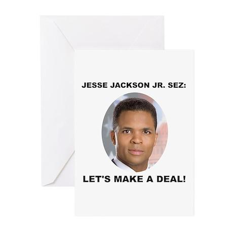 Jesse Jackson Jr. Greeting Cards (Pk of 10)