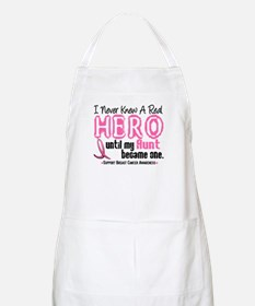 Never Knew A Hero 4 PINK (Aunt) BBQ Apron