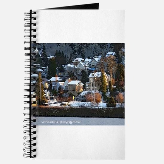 Snowy East Hillside Journal