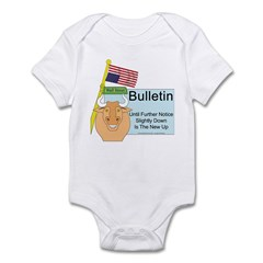 Wall Street Sucks Infant Bodysuit
