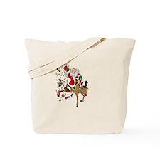 Santa Rides Tote Bag