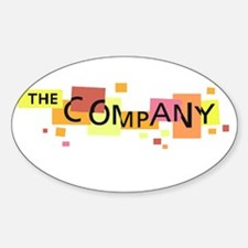 The Company Oval Decal