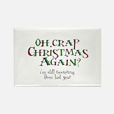 Christmas Crap Rectangle Magnet