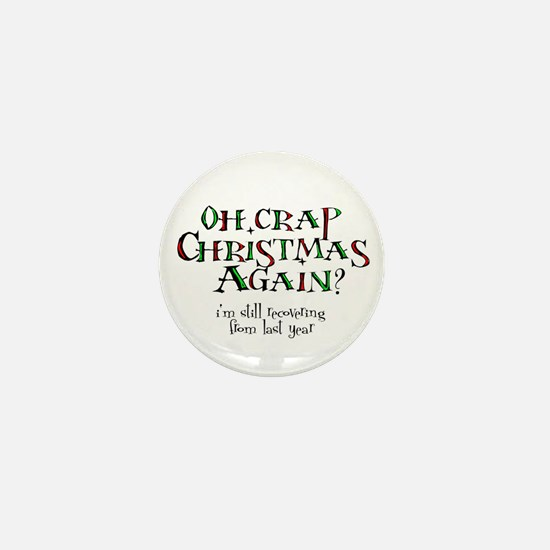 Christmas Crap Mini Button
