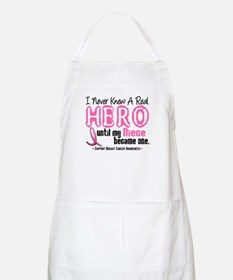 Never Knew A Hero 4 PINK (Niece) BBQ Apron