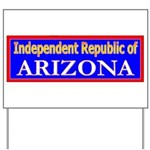 Arizona-2 Yard Sign