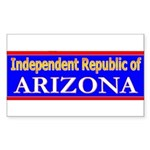 Arizona-2 Rectangle Sticker 50 pk)