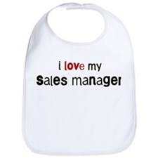 I love my Sales Manager Bib