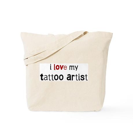 I love my Tattoo Artist Tote Bag