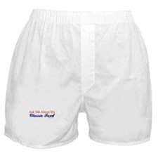 """Proud of My Classic T-Bird"" Boxer Shorts"