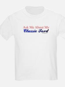 """Proud of My Classic T-Bird"" T-Shirt"