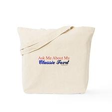 """Proud of My Classic T-Bird"" Tote Bag"