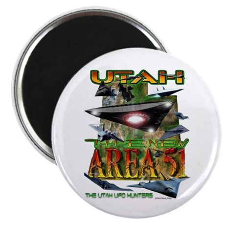 Utah The New Area 51 Magnet