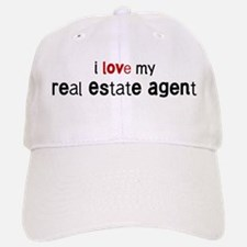 I love my Real Estate Agent Baseball Baseball Cap