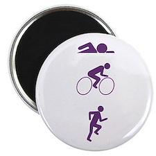 "Triathlon Sports 2.25"" Magnet (10 pack)"