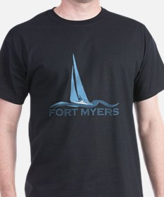 Fort Myers - Sailing Design. T-Shirt