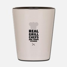 Real Grill Chefs are from Istanbul Cr91 Shot Glass