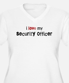 I love my Security Officer T-Shirt