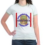 Arizona-3 Jr. Ringer T-Shirt