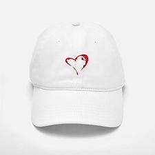 Heart Climber Baseball Baseball Cap